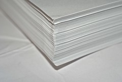 Just White Paper (phxdailyphotolady) Tags: macromondays macro justwhitepaper paper stack white