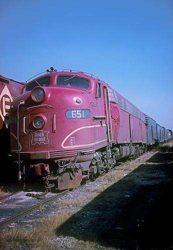 Rock Island E8 651
