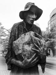 Ireland Potato Famine Memorial Statues