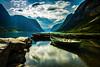Serene (Heli Hansen) Tags: sognogfjordane norway scenic landscape lake fjord summer