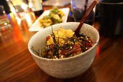 Tuna Poke at Sushi Roku (deeeelish) Tags: tune poke