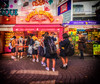 Observe the Observer (dumsumdumfai) Tags: colorful travel travelphotography street streetphotography streetscene streetphoto streetlife streetshot streetstyle tokyo harajuku takahashita