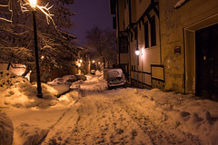 Plovdiv (Daniel Chanliev) Tags: plovdiv winter snow night oldtown