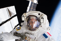 iss050e031916 (NASA Johnson) Tags: spacewalk eva spacesuit space earth emu shane kimbrough thomas pesquet batteries