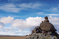 Super magic robots set the solar system free (OR_U) Tags: 2017 oru iceland laufskálavarða stones stonecairns cairn landscape stonetemplepilots sky clouds