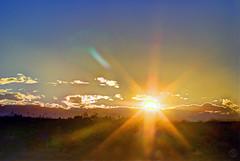 Solar Finale (splinx1) Tags: contrejour sun solar sol sunset flare hdr cloneorama pentaxk10d pentaxart smcpm135f35 fixoflow