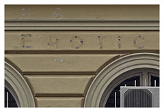 (Goran Patlejch) Tags: brown detail window sign yellow wall architecture typography design erotic arch prague decay ghost letters sexshop prag praha praga airconditioner signage alphabet ochre heating removed patlejch gntx goenetix patlejh