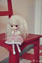 Nina o^___^o (Au Aizawa) Tags: fashion japanese doll dal mohair dotori