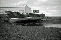 Nil Desperandum (Ilford XP2 Super 400 11) (AngusInShetland) Tags: bw 35mm scotland xp2 ilford shetland lerwick xp2super400 nildesperandum haysdock lk235 canoscan5600f shetlandmuseumandarchives ilfordsingleuse
