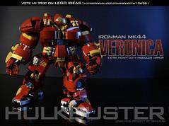 LEGO HULKBUSTER MOC (semload) Tags: comics robot lego ironman science age hulk marvel avengers moc ultron chogokin hulkbuster legomoc legohulkbuster marveavenger