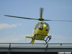 EC-135 T2+ F-HBOI SAMU 45 (damienfournier18) Tags: 45 secours samu avion eurocopter orléans ec135 hélicoptère aéroport urgences smur inaer samu45 fhboi chrorléans