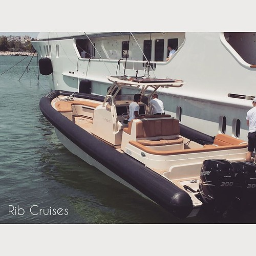 Ready to disembark #ribcruises #rentaboat #boat #summeringreece #greekislands