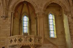 Abbaye de Royaumont (Val d'Oise) - Rfectoire des moines - Chaire du lecteur (Morio60) Tags: ledefrance 95 abbaye valdoise royaumont