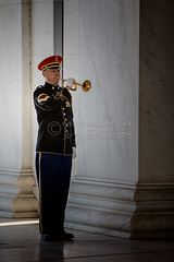Playing Taps at the Jefferson Memorial (Jerry Fornarotto) Tags: soldier washingtondc dc washington marine memorial uniform respect military guard ceremony honor patriotic taps event marble veteran somber jeffersonmemorial bugle honorguard lightsout lastpost playingtaps jerryfornarotto