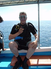 Diving at Sipadan, Borneo, Malaysia