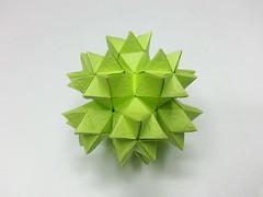 Campfire origami (hyunrang) Tags: origami campfire dodecahedron hur paperstrip