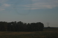 August 3 2015 (paigehkeister) Tags: travel summer canada green car clouds landscape early cows july august powerlines alberta trailer bvj