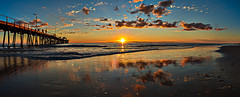 Face the Light (A Durst Photo) Tags: ocean sunset sky reflection beach nature water clouds landscape photography coast day place time outdoor jetty south au country australia panoramic land type geography effect southaustralia henley henleybeach archtiecture timeofday 500px typeofphotography ifttt