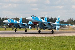 AP0A8447_1000 (Nikolay Krasnov) Tags: show blue sky clouds plane canon airplane photo force russia moscow aircraft aviation air flight bluesky follow since airshow helicopter planes sigma120400 5dmk3 zukovski aviadarts2015