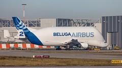 Beluga 2 F-GSTB-0192 (andreas_muhl) Tags: a300 beluga beluga2 cargo fgtsb finki xfw a300b4608st airbus finkenwerder edhi planespotting airplane aircraft