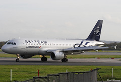Air France (SkyTeam Livery) A320-200 F-GFKS (birrlad) Tags: manchester man airport international uk aircraft aviation airplane airplanes airline airliner airlines airways taxi taxiway arrival arriving landing landed stand terminal skyteam livery colour scheme decals scrapped air france airbus a320 a320200 a320211 fgfks