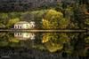 Reflejos (A.Coleto) Tags: canon lucroit la granja san idelfonso segovia españa reflejo polarizador nd degradado agua otoño amarillo verde