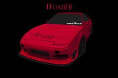 Car_Modify_Wonder_180SX (yurisminator) Tags: car modify wonder 180sx vector