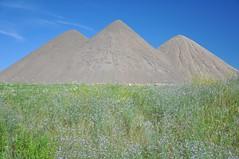 Triple Peaks (cmu chem prof) Tags: mountpleasant isabellacounty michigan mcguirksandandgravel topsoil dirt circularpolarizer