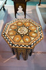 Antique table with inlaid Islamic inscription (quinet) Tags: 2015 antik borneo kuching malaysia sarawak tisch ancien antique table