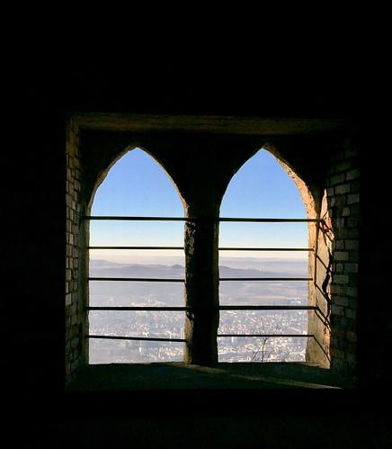 Das doppelte Turmfenster