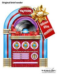 TK Maxx Human Jukebox (Spacial-Installations) Tags: tk maxx human jukebox kings cross london spacial installations christmas
