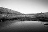The infant finds its way (Richie Rue) Tags: nikond300 landscape river stream moors moorland ribblehead mono monochrome blackandwhite