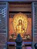 Big Wild Goose Pagoda-5654 (kasiahalka (Kasia Halka)) Tags: unescoworldheritagesite giantwildgoosepagoda bigwildgoosepagoda buddhistpagoda tangdynasty 652 morningbell godofwealth xuanzang xian china