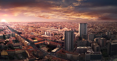 The End Of Another Day (emacol09) Tags: italy milan cityscape lombardy