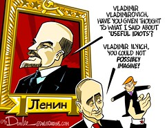 0117 useful idiot cartoon (DSL art and photos) Tags: editorialcartoon donlee donaldtrump vladimirputin lenin puppet usefulidiot election presidentelect
