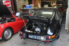 1971 Porsche 911 T (Davydutchy) Tags: car collection private privé sammlung collectie automobile auto automobiel bil voiture pkw klassiker classic porsche 911 t 911t welsum trn nieuwjaarsborrel january 2017