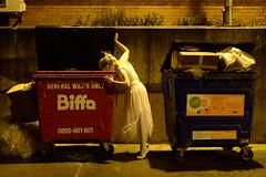 Scavenger (Apionid) Tags: ballet dancer dumpsterdiving night scavenging feral werehere hereios nikond7000 january 2017 lichfield outrageouslies