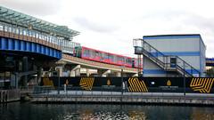 DLR, Canary Wharf (Jungle Jack Movements) Tags: 126 141 docklands light rail tram trolley dlr london england uk gb united kingdom canary wharf great britain passenger travel fair pay ticket driverless tfl transport for