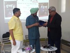 Book MumBhai Returns released by then CBI Director Joginder Singh in Delhi April 2016_201620160429_172914