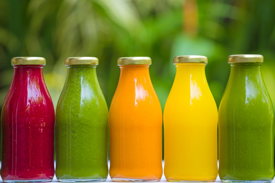 As in the rest of the world vegetable juices are getting popular