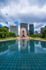 DSC00043 (Damir Govorcin Photography) Tags: war memorial hyde park sydney water reflection architecture history rememberance sky clouds natural light zeiss 1635mm sony a7rii trees buildings perspective wide angle composition creative