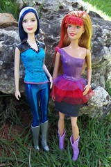 Zia & Ryana (Sin.da.a.ta.ri.en) Tags: barbie movie rockn royals zia ryana fashion doll