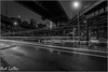 **MIDNIGHT MADNESS** (**THAT KID RICH**) Tags: richzoeller rich zoeller thatkidrich tkr midnight madness manhattan ny nyc brooklyn junction black white snow motion trails lines bw bridge under below wet buildings architecture nightphotography night construction canon newyorkcity south roads