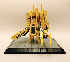 Ellen Ripley's power loader (adde51) Tags: ellen ripley xenomorph loader power movie alien moc lego adde51 p5000 caterpillar