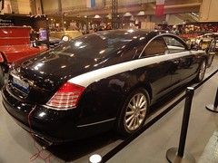 Maybach 57S Coupe (911gt2rs) Tags: messe event show sc xenatec w240 c240 schwarz black worldcars