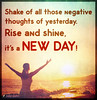 Popular inspirational quotes at EmilysQuotes (SpiritualCleansing) Tags: amazing encouraging inspirational life negativethoughts newday rise shake shine unknown yesterday
