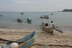 (Jani Kuusonen) Tags: ocea sea boat fishing kuta lombok indonesia