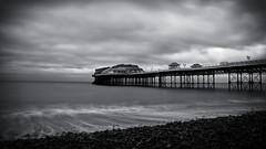Cromer Pier (Jacob Kenworthy) Tags: nd filters bw blackandwhite monochrome movement motion moody cromer coast sea ocean landscape le longexposure