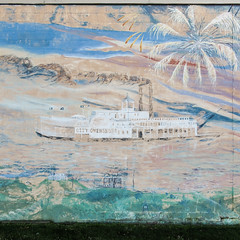 CITY OWENSBORO Ohio River tooting steamboat and fireworks on a cinderblock wall. No of. (Tim Kiser) Tags: 2016 20160103 2ndstreet 2ndandfrederica cityofowensboro cityofowensbororiverboat cityofowensborosteamboat daviesscounty daviesscountykentucky fredericastreet fredericaand2nd img8179 january january2016 kentucky ohioriverpainting ohioriverriverboat ohioriversteamboat owensboro owensborokentucky secondstreet west2ndstreet westsecondstreet cinderblockwall concreteblockwall downtown downtownowensboro fireworks fireworksinart fireworkspainting mural paintedcinderblockwall paintedcinderblocks paintedconcreteblockwall paintedconcreteblocks paintedmural paintedwall paintingofariver paintingofariverboat paintingofasteamboat paintingoffireworks paintingofsmoke paintingoftheohioriver riverboat riverboatmural smoke steamboatmural westkentucky westernkentucky unitedstates