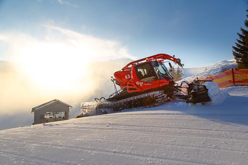 Preparing the slopes